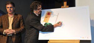 استاد شهرام ناظری در رونمایی کتاب یک نفس تازه