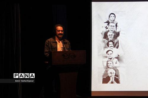 افشین هاشمی در رونمایی آلبوم هفت صدا اثر اردوان طاهری