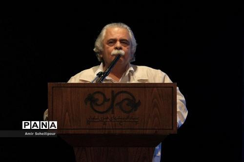 احمد رضا اسعدی در رونمایی آلبوم هفت صدا اثر اردوان طاهری