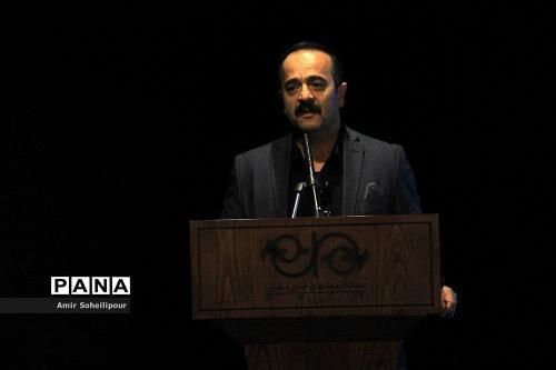 کیوان ساکت در رونمایی آلبوم هفت صدا اثر اردوان طاهری